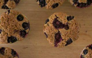 Quinoa & Corn Blueberry Muffin