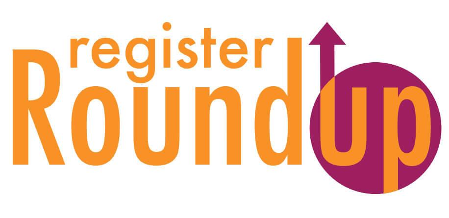 Register Round Up Logo