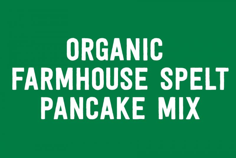 Organic Farmhouse Spelt Pancake Mix