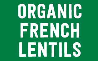 Organic French Lentils