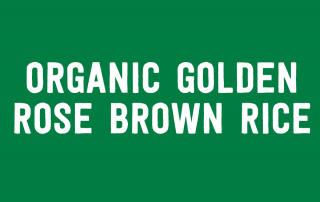 Organic Golden Rose Brown Rice