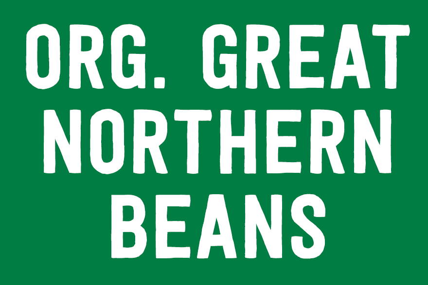 Organic Great Northern Beans
