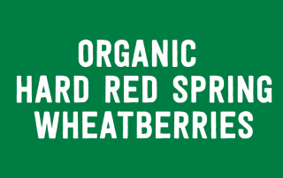 Organic Hard Red Spring Wheatberries