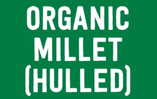 Organic Millet (Hulled)