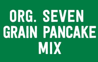 Organic Seven Grain Pancake Mix