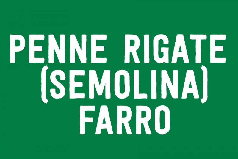 Penne Rigate (Semolina)