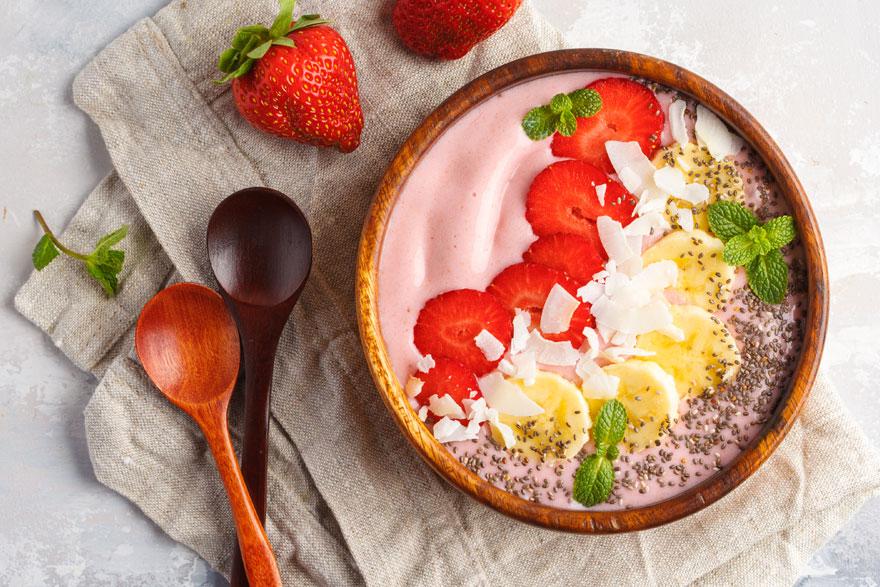 Strawberry Smoothie Bowl