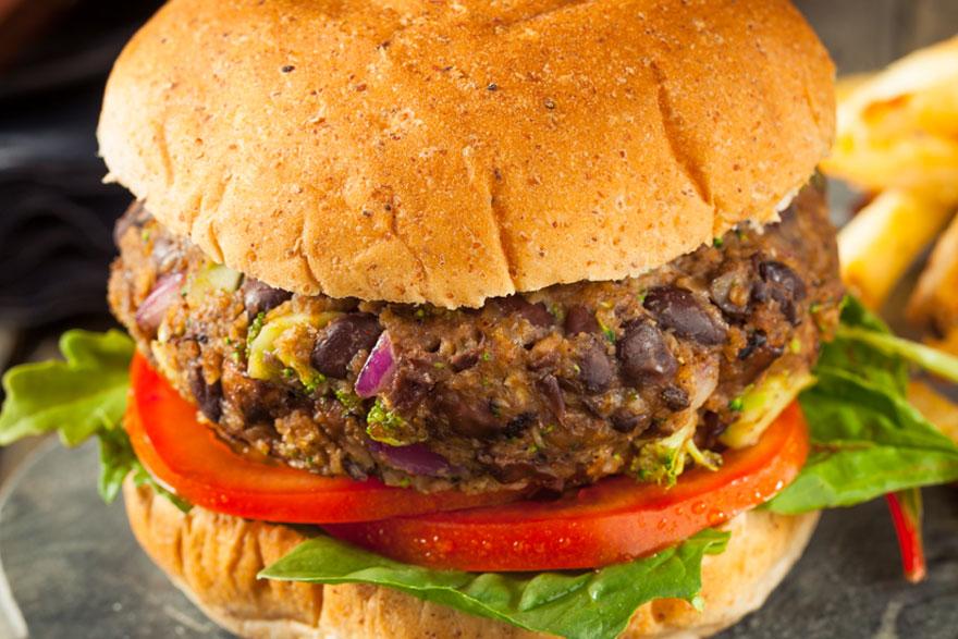 Southwestern Veggie Burgere