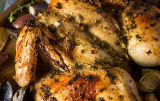 Herb Infused Roasted Chicken